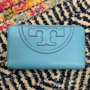 Tory Burch Wallet Turqouise